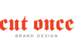 cut-once logo