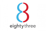 eighty-three-creative logo