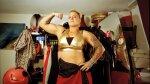 Foto's van harde vechtvrouwen uit heel Europa
