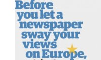 Before you let a newspaper