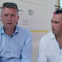 Andrew Peake from VCCP & Lee Boniface from Canon Europe