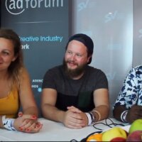 Fabienne Fiorucci, Damien Foui and Wale Gbadamosi Oyekanmi for dare.win