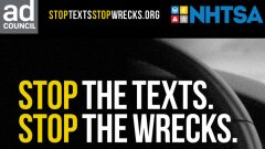 New Texting and Driving Campaign from Pereira O'Dell, The Ad Council, and NHTSA