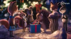 Believe in love and in christmas, even if you are a little hedgehog : JvM/Donau for Erste Group