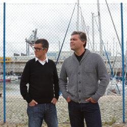Pedro Bexiga and Marcelo Lourenço, fuel Portugal