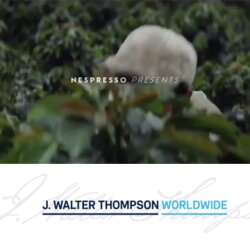 An Interview with J. Walter Thomspon Worldwide about the new Nespresso campaign