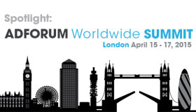 Spotlight: AdForum London Summit 2015