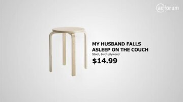 IKEA plays with daily life problems submitted on Google