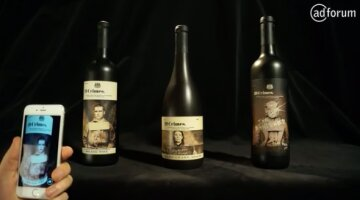 19 Crimes collaborated with creative technology company Tactic and J. Walter Thompson SF to release a wine label unlike any other.
