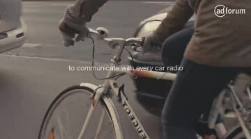 When cyclists hack your car radio