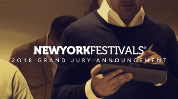 New York Festivals International Advertising Awards Announces the 2018 Grand Jury