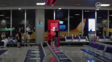 Kit Kat breaks into airports