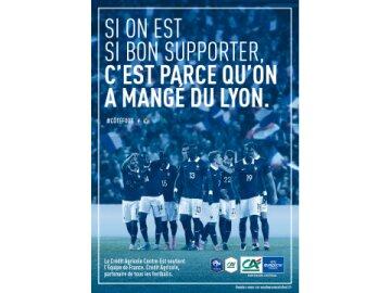 Soutien à l'équipe de France : Centre-Est