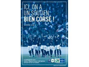 Soutien à l'équipe de France : Corse