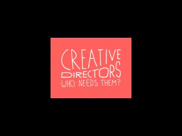 Creative Directors – Who needs them? F&B seminar at Eurobest 2013