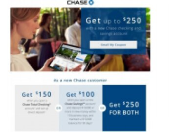 Chase Acquisition Landing Page
