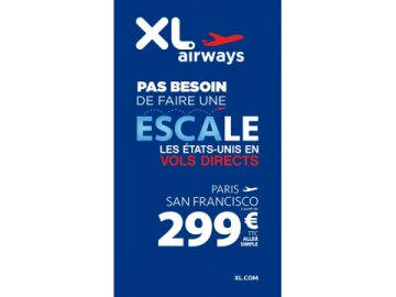 XL Airways - Escale