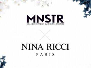 MNSTR choisit par Nina Ricci pour le lancement de son nouveau parfum
