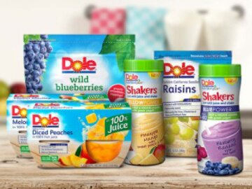 Dole Packaged Foods - Social Media Content