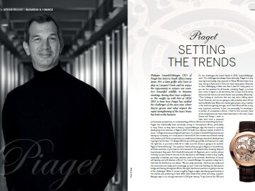 Interview with Philippe Leopold-Metzger CEO of Piaget