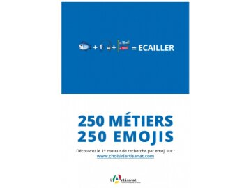 250 Métiers. 250 Emojis 1