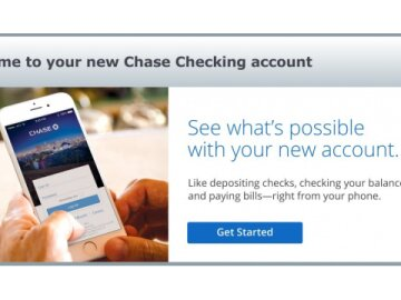 Chase Welcome Digital Ads