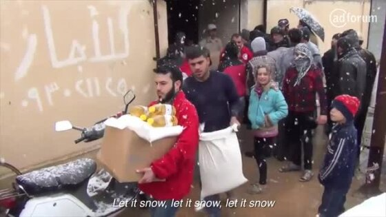Holiday Campaign Interview: Merry Christmas From Syria