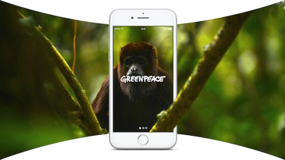 Greenpeace UK has introduced its first-ever Virtual Reality (VR) app – 'Virtual Explorer'.