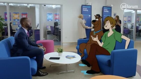 Like Wow! Scooby-Doo revealed as new star of Halifax TV commercial.