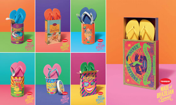 The new Havaianas Global Campaign Will Bring a Little of Brazil to the Rest of the World