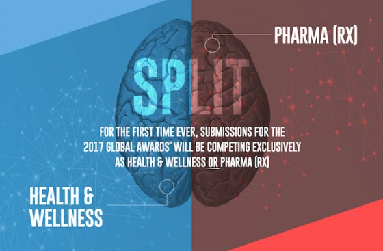 The Global Awards℠  announced the creation of two specialized Executive Juries for the 2017 competition: Pharma(Rx) and Health & Wellness