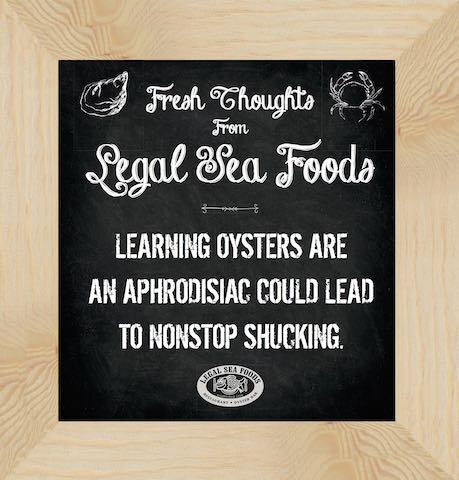 LEGAL SEA FOODS GETS DEEP WITH TRANSIT AD CAMPAIGN