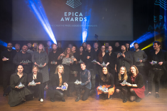 The Epica Awards and Creative Circle will stay in Amsterdam