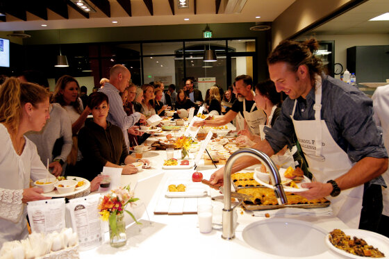 SRG Hosts Real School Food Challenge in Support of Chef Ann Foundation