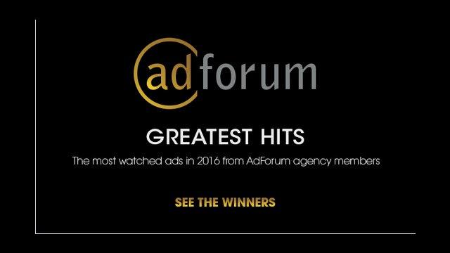 AdForum's Greatest Hits of 2016