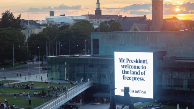 New Campaign Interview: The Land of Free Press