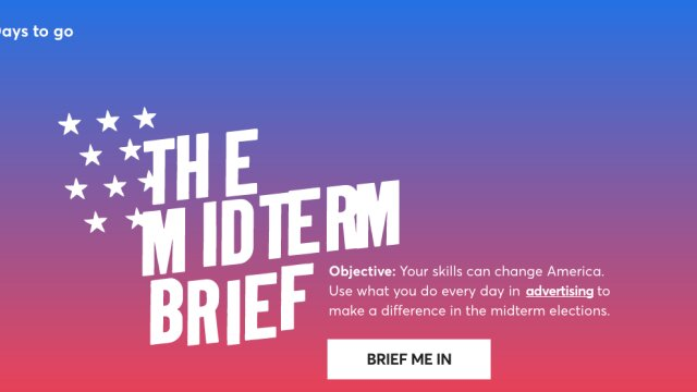 TBWA Urges You to Vote: Introducing The Midterm Brief