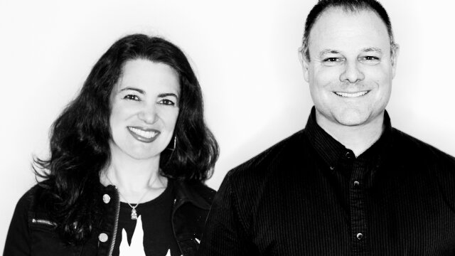 Two Peas In A Pod: DDB's Lisa & Derek