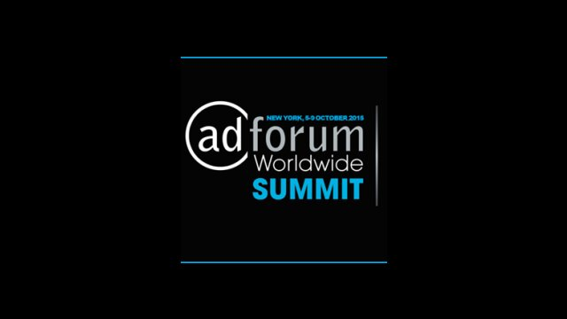 Press Review from the 2015 NY AdForum Worldwide Summit