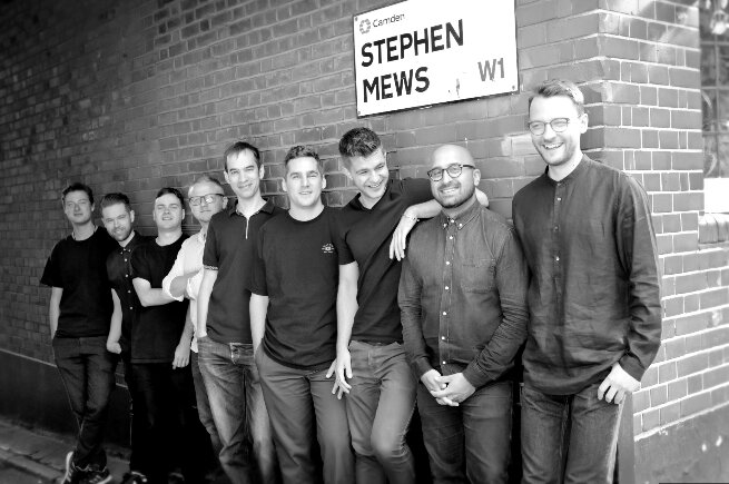 String and Tins Bolster Engineer Team at their Fitzrovia Studio Facility