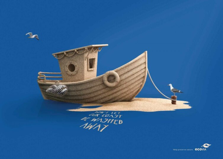 Thursday Good Ad: Don't Let Our Coast Be Washed Away