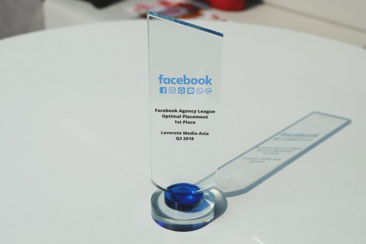 Leverate Media Asia Crowned As Best Agency In Facebook Agency League Q3 2018