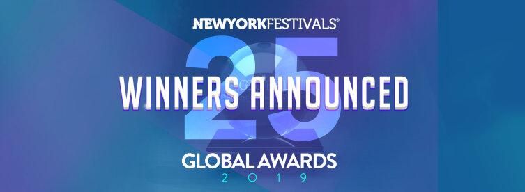 New York Festivals 2019 Global Awards Announces Winners; FCB Health Network Named Global Healthcare Network of the Year; Area 23 is Healthcare Agency of the Year