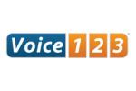 voice123 logo