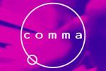 comma-music logo