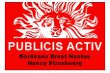 publicis-activ-bordeaux-brest-nantes-nancy-strasbourg logo
