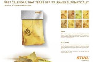 STIHL Autumn Calendar 2010
