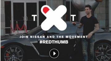 Nissan #RedThumb