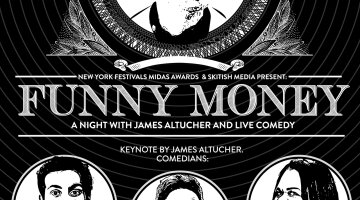 New York Festivals Midas Awards & Skitish Media Present Funny Money: A Night with James Altucher and Live Comedy