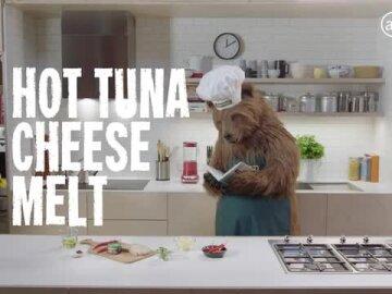 Hot Tuna Cheese Melt